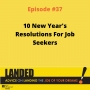 Artwork for 10 New Year's Resolutions For Job Seekers