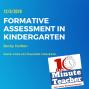 Artwork for Formative Assessment in Kindergarten