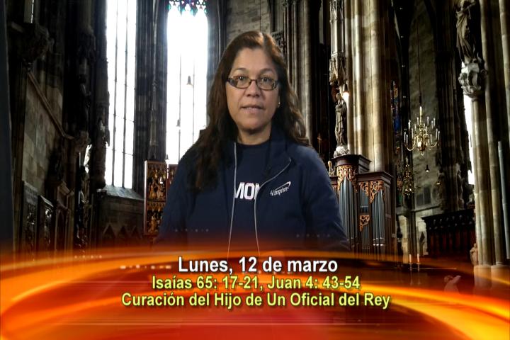 Artwork for Dios te Habla con Angela Valencia; Tema el hoy:  Curación del Hijo de un Oficial del Rey