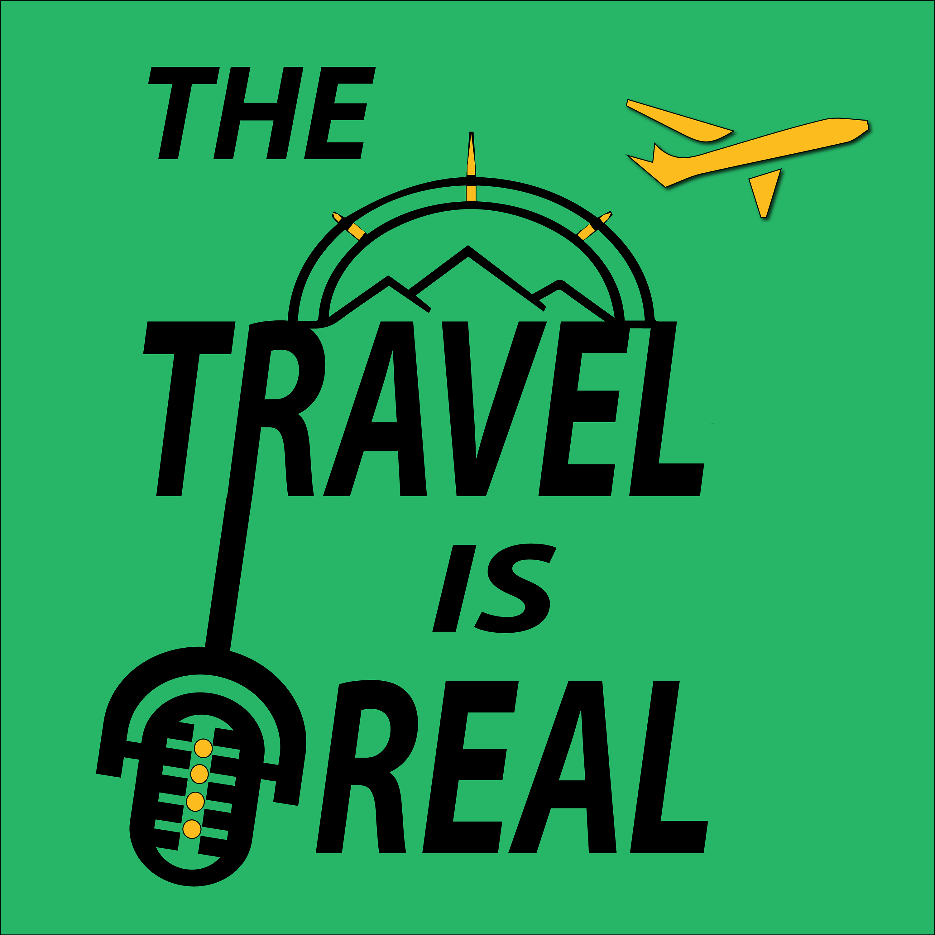 The Travel Is Real show art