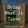 Artwork for Doing What It Takes