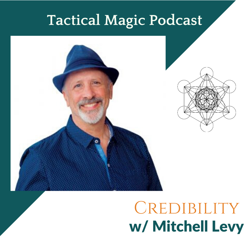 Artwork for Credibility w/ Mitchell Levy