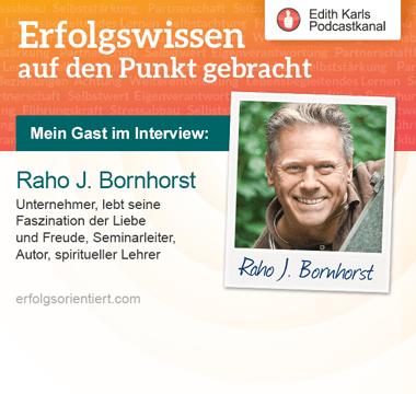 140 - Im Gespräch mit Raho J. Bornhorst