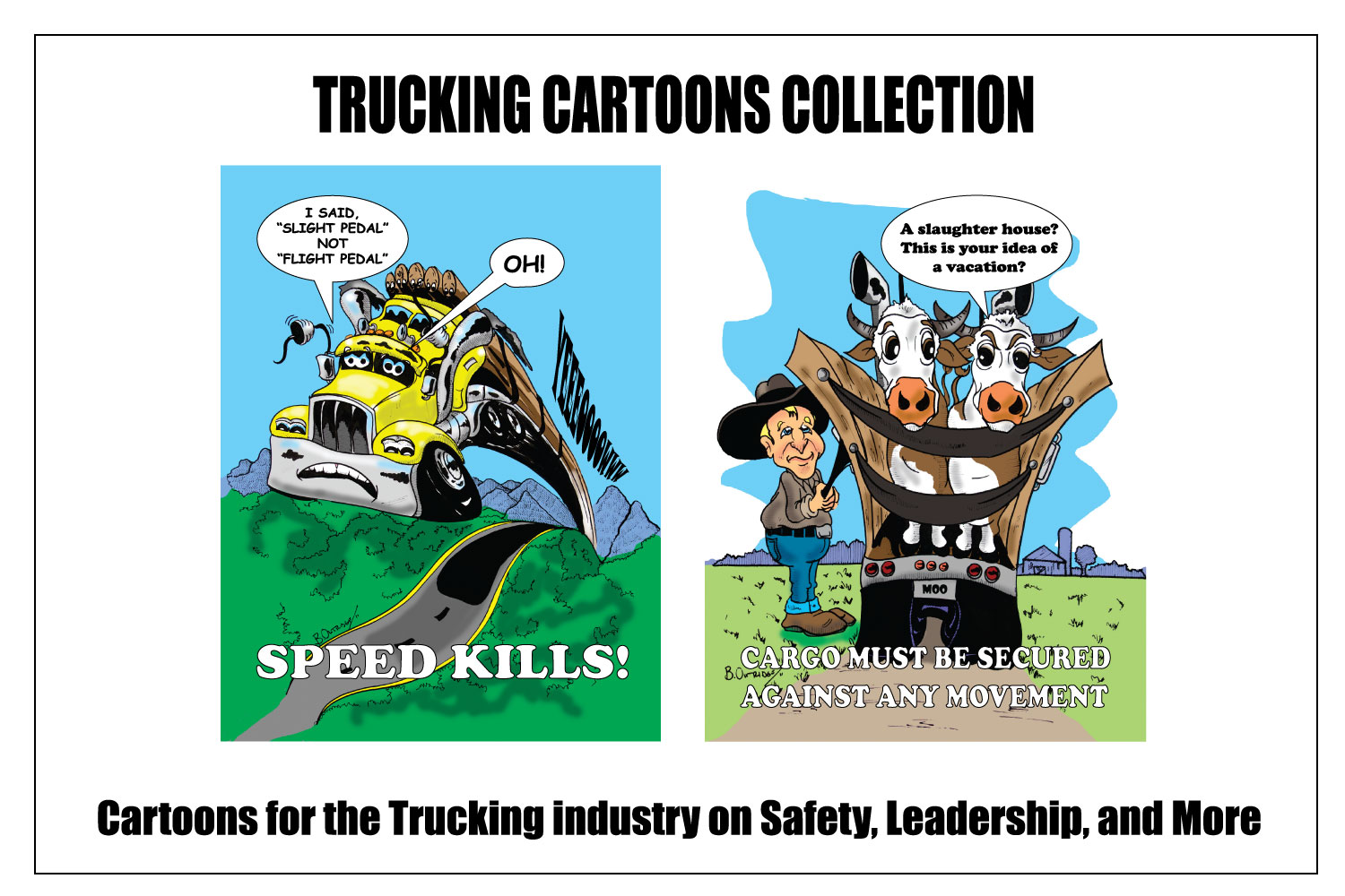 Trucking Cartoons Store