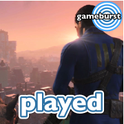 Artwork for GameBurst Played - Fallout 4