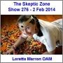 Artwork for The Skeptic Zone #276 - 2.Feb.2014