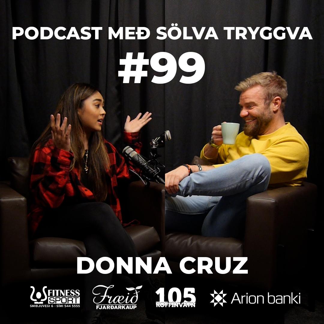 #99 Donna Cruz með Sölva Tryggva