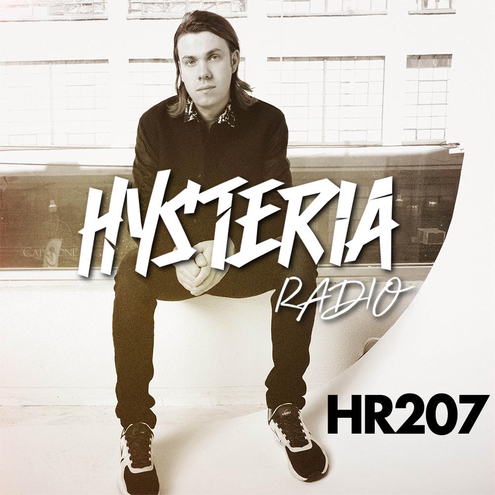 Hysteria Radio 207 show art