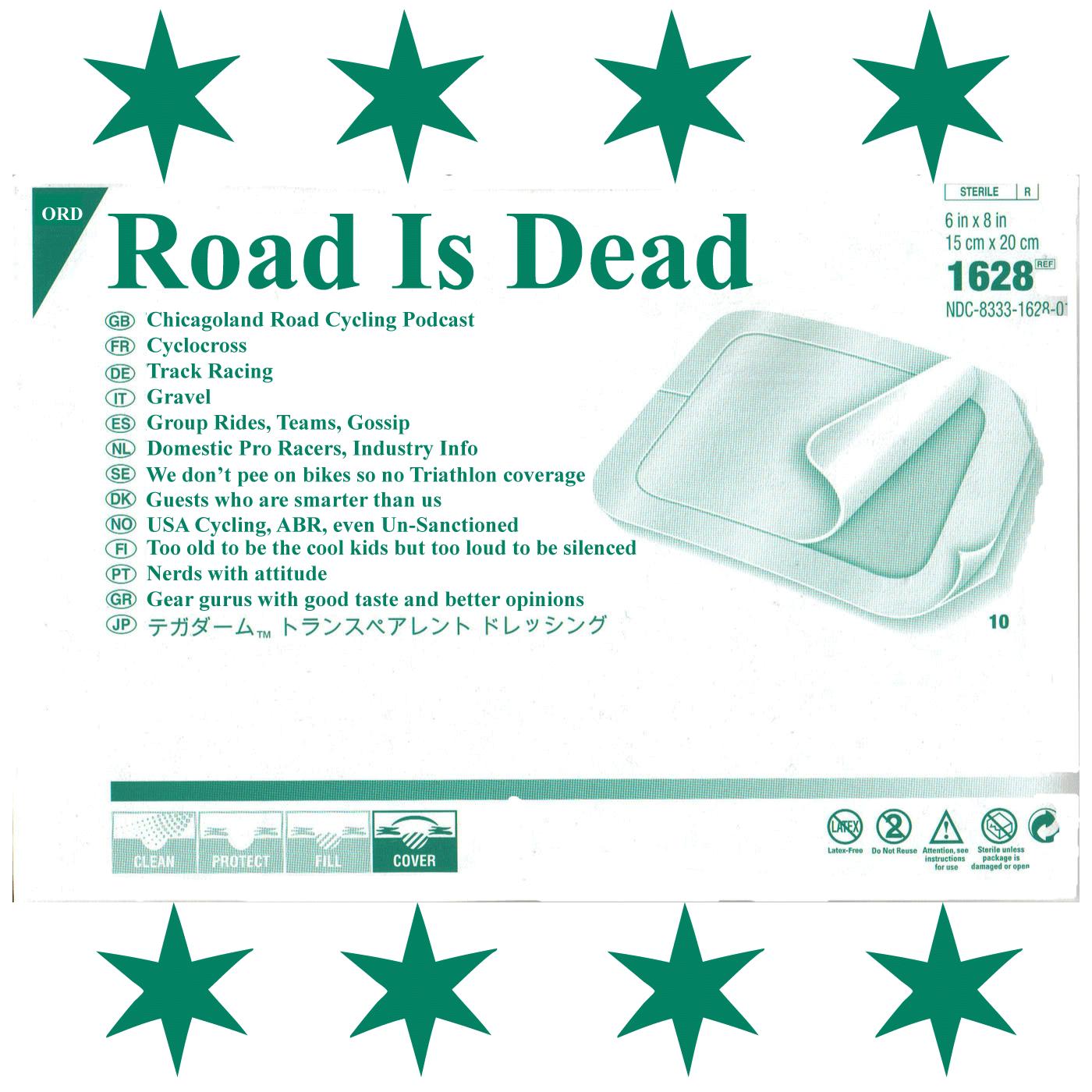 Road Is Dead show art
