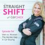 Artwork for The Straight Shift, #54:  Men vs. Women - The Gender Gap in Car Buying