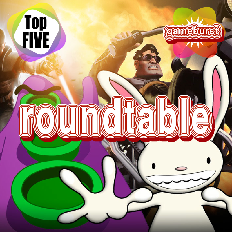 GameBurst Roundtable - Top 5 LucasArts Games