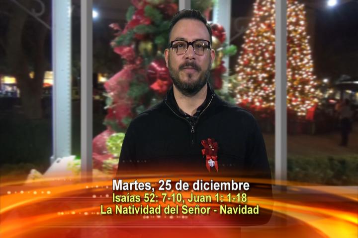 Artwork for Dios te Habla con Elder Samaniego;  Tema el hoy:  La Natividad del Señor - Navidad