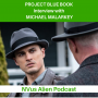 Artwork for Project Blue Book Review + Interview with Michael Malarkey