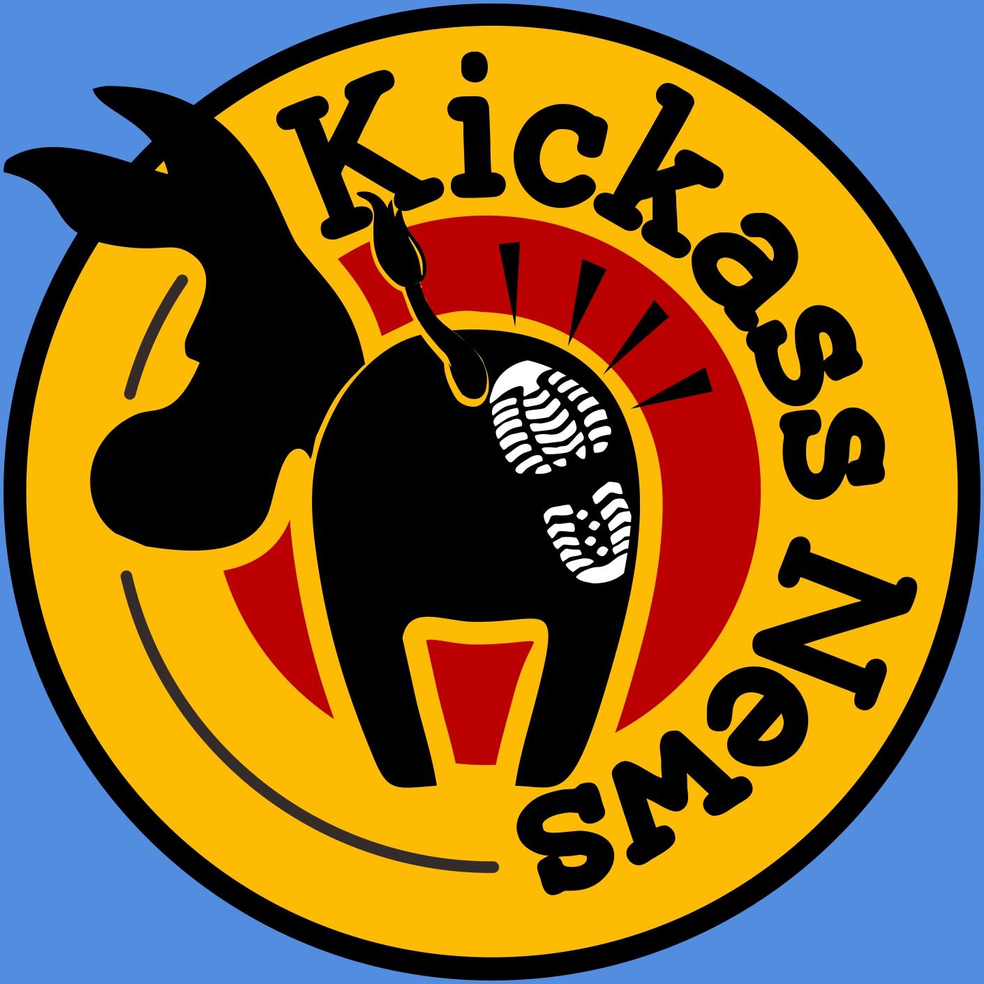 Kickass News show art