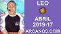 Artwork for HOROSCOPO LEO-Semana 2019-17-Del 21 al 27 de abril de 2019-ARCANOS.COM...
