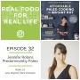 Artwork for Episode 32: Jennifer Robins, Predominantly Paleo