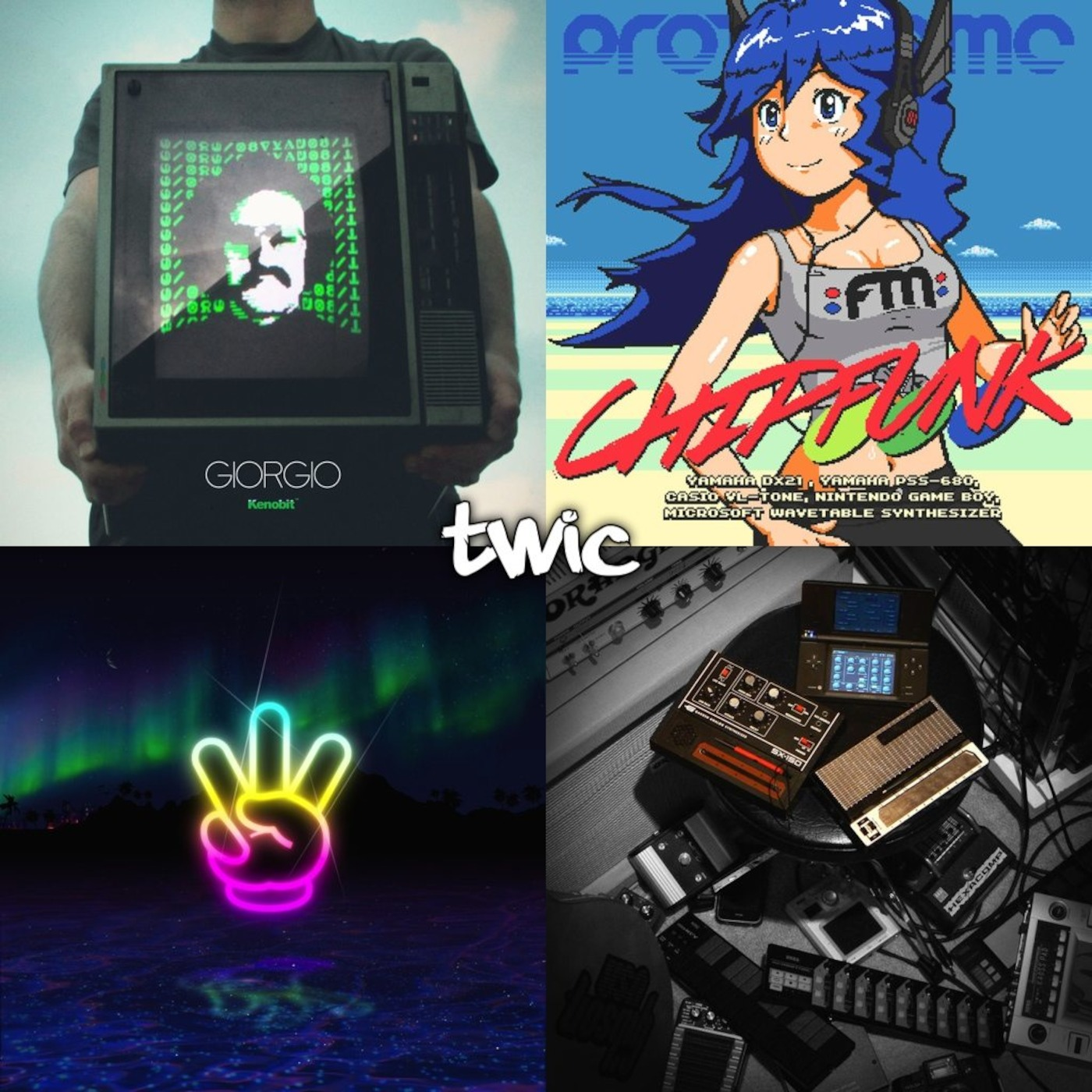 TWiC 057: Brave Wave, Player Two, Protodome, George and Jonathan