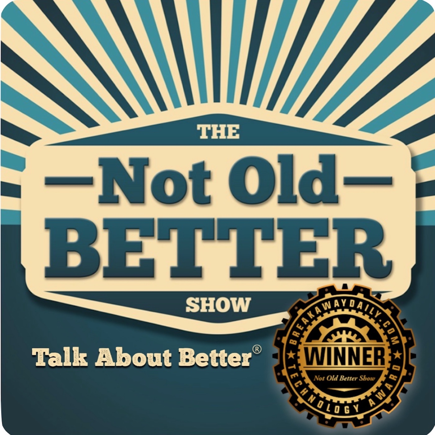 The Not Old - Better Show logo
