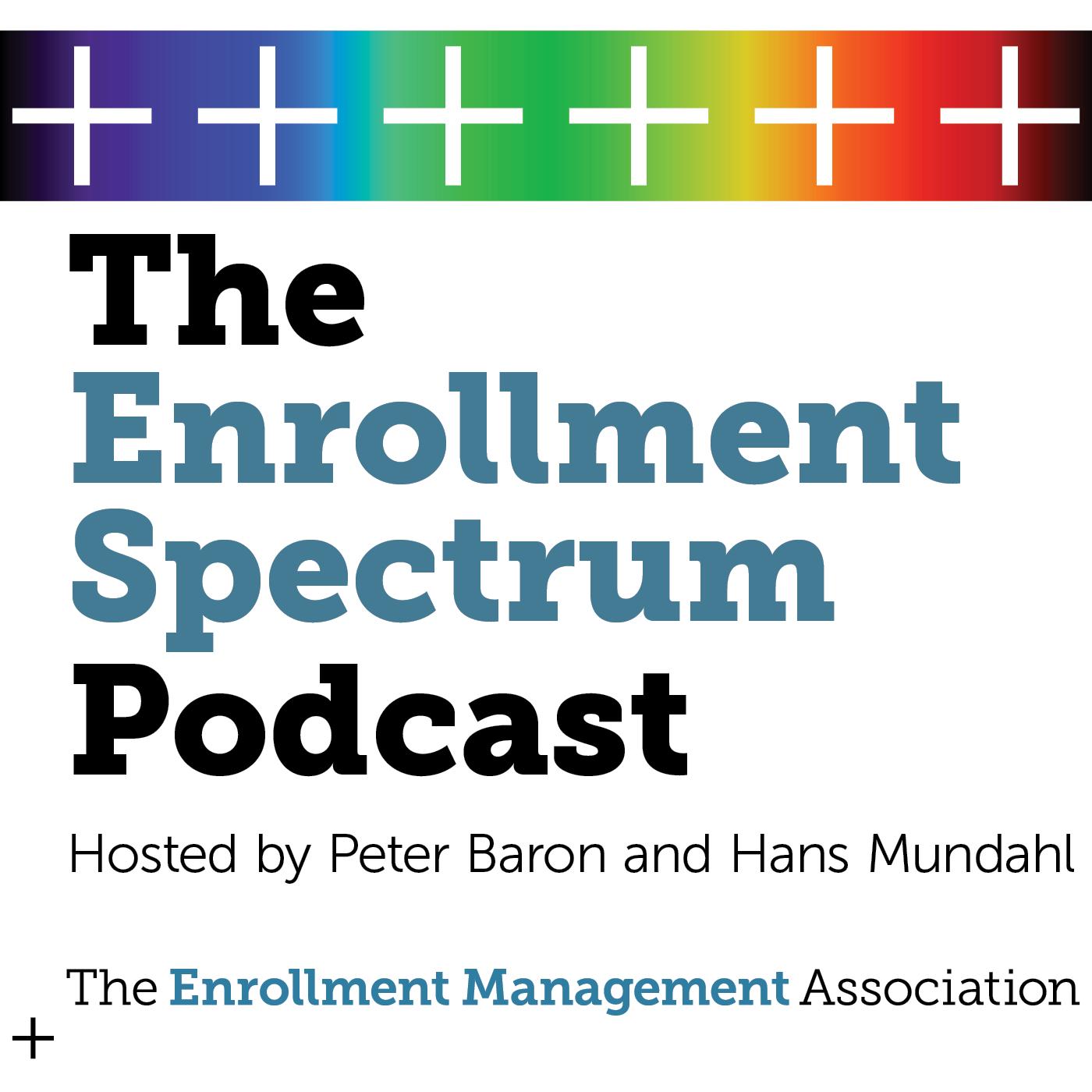 The Enrollment Spectrum Podcast show art