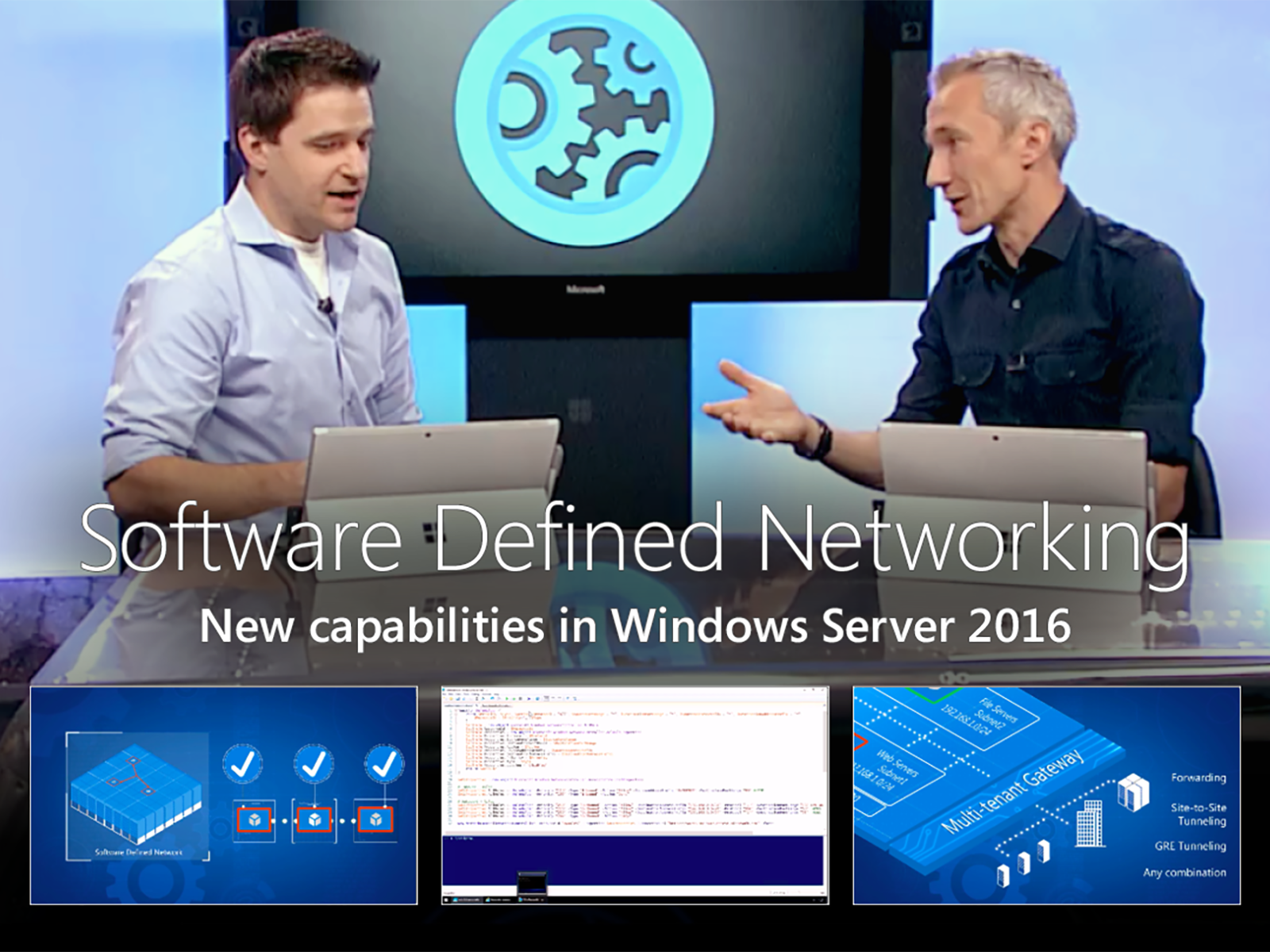 Artwork for An Introduction to Software Defined Networking with Windows Server 2016