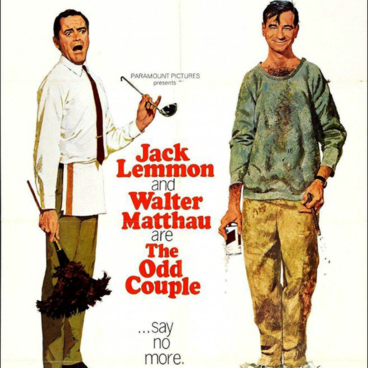 ISTYA Odd Couple movie review 1968