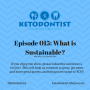 Artwork for KDP Episode 015:  What is Sustainable?