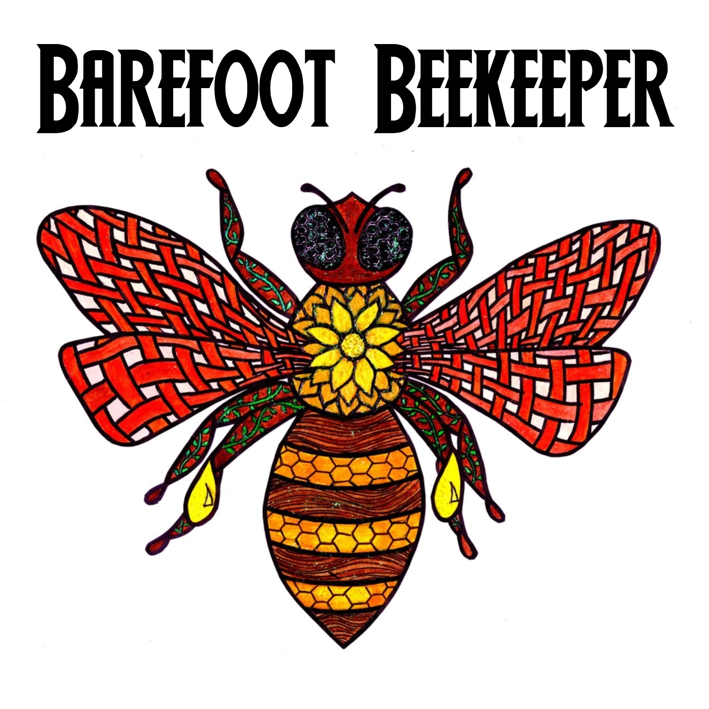The Barefoot Beekeeper show art