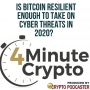 Artwork for Is Bitcoin Resilient Enough to Take on Cyber Threats in 2020?