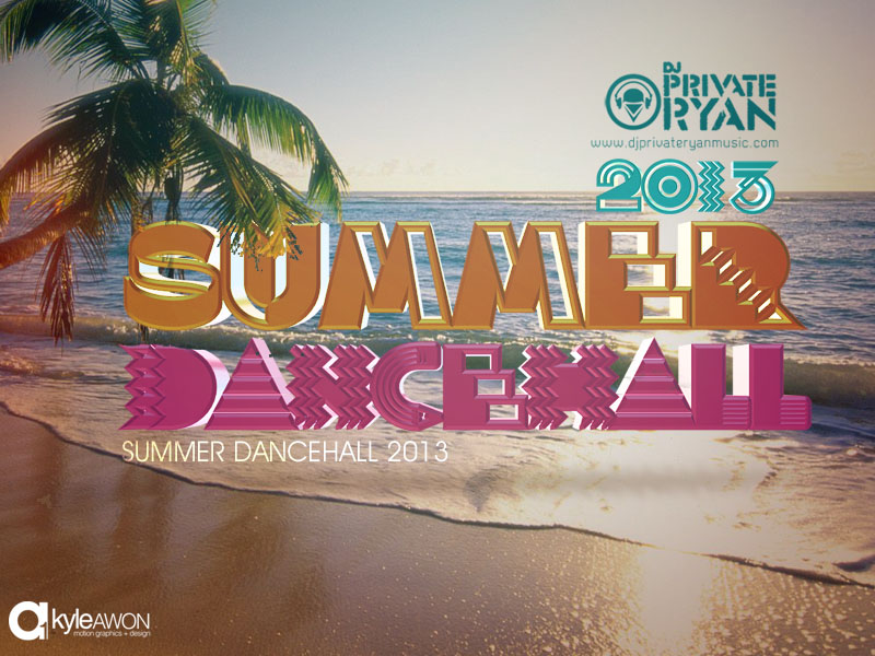 Private Ryan Presents The Summer Dancehall Sampler 2013 (RAW)
