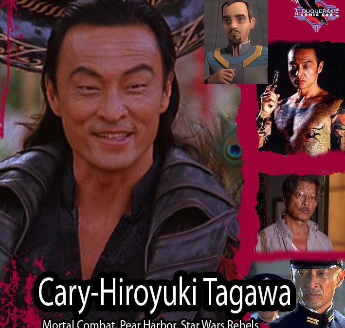 Artwork for Cary-Hiroyuki Tagawa preview - Albuquerque Comic Con