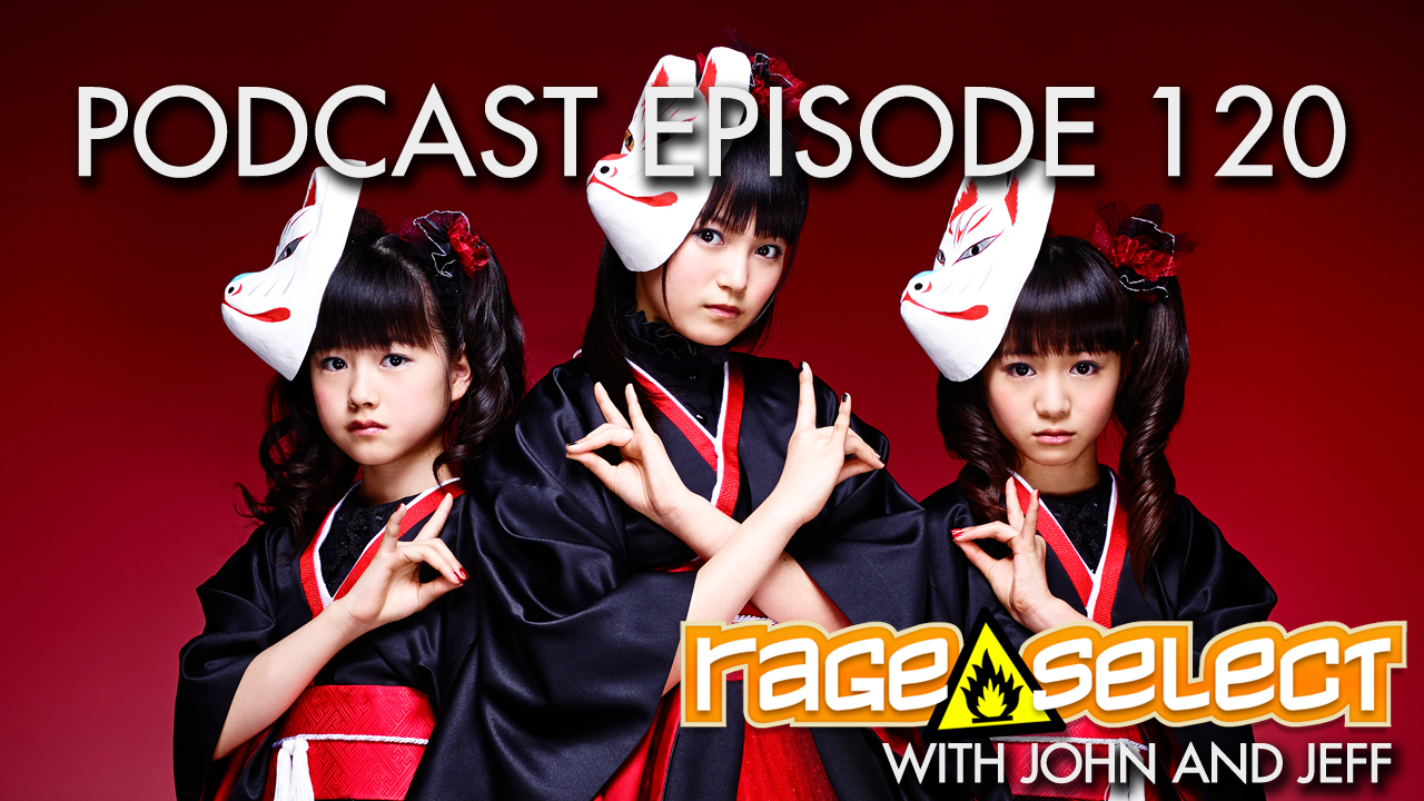Rage Select Podcast Episode 120 - John and Jeff answer your questions!