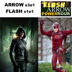 s3e1 Arrow - s1e1 Flash