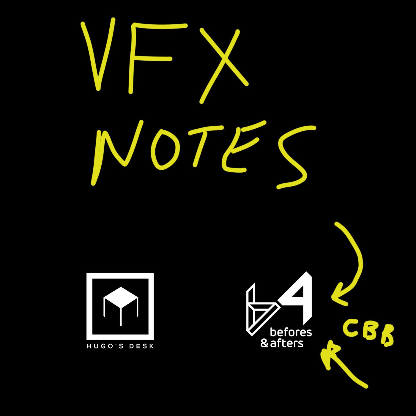 VFX Notes show art