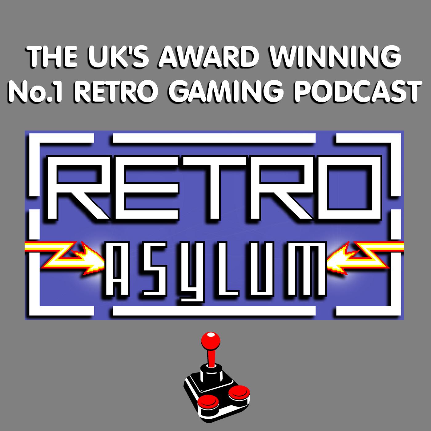 Retro Asylum -  The UK's No.1 Retro Gaming Podcast show art