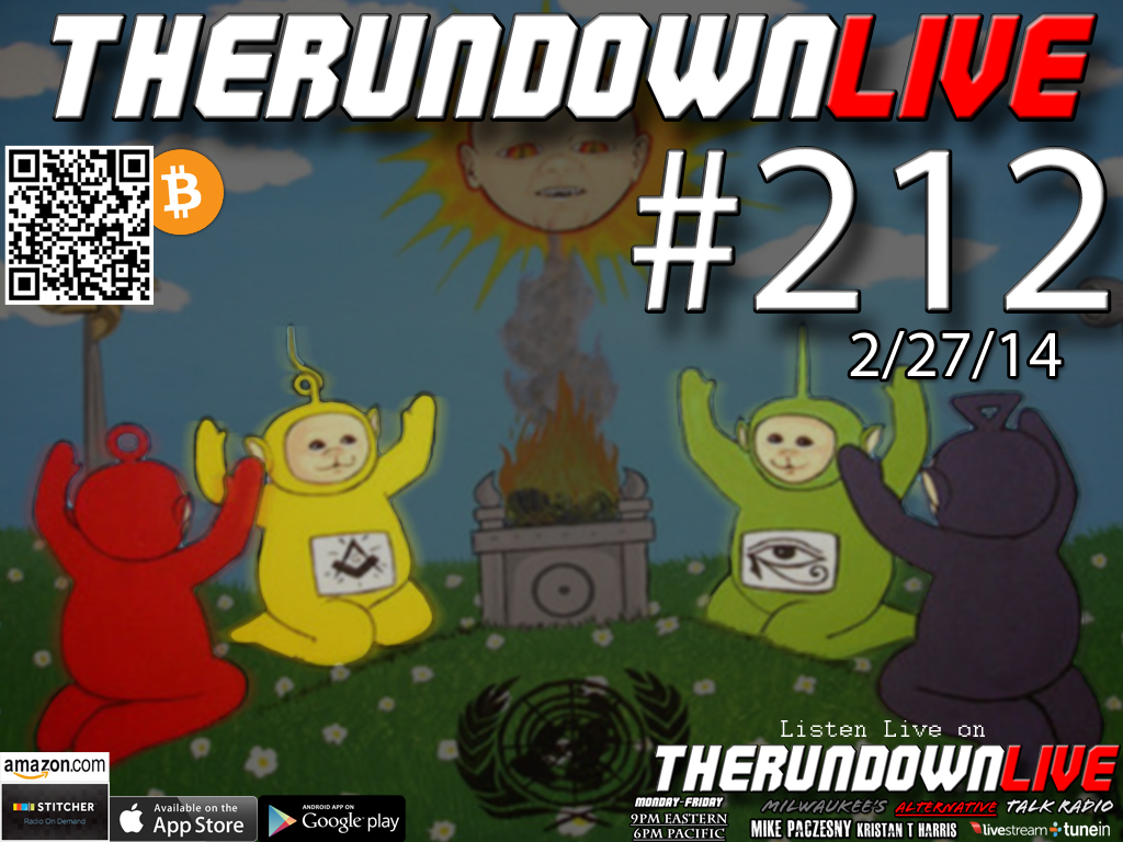 The Rundown Live #212 Open Lines (3D Printed House,Cyborg Soldiers, DNA Memories)