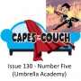 Artwork for Issue 130 - Number Five (Umbrella Academy)