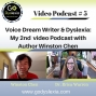 Artwork for Voice Dream Writer: A Video Podcast with Author Winston Chen