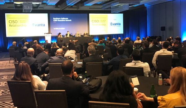 CISO/Security Vendor Relationship Podcast live at Evanta CISO Executive Summit in Los Angeles 12/11/19