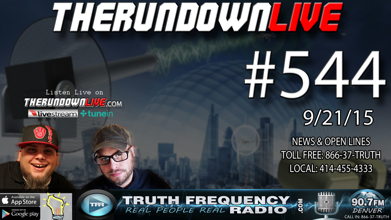 The Rundown Live #544 (CPS in School,GPS Tracking Mileage,Government)