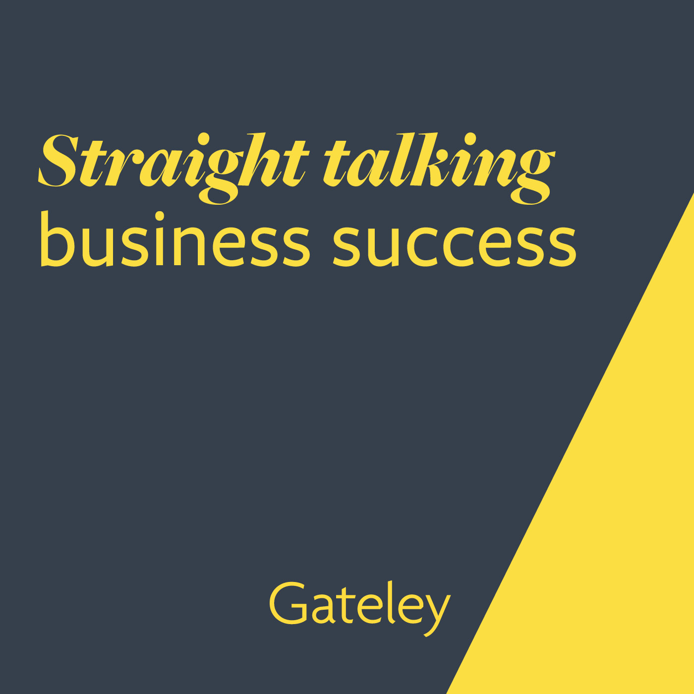 Straight talking business success show art