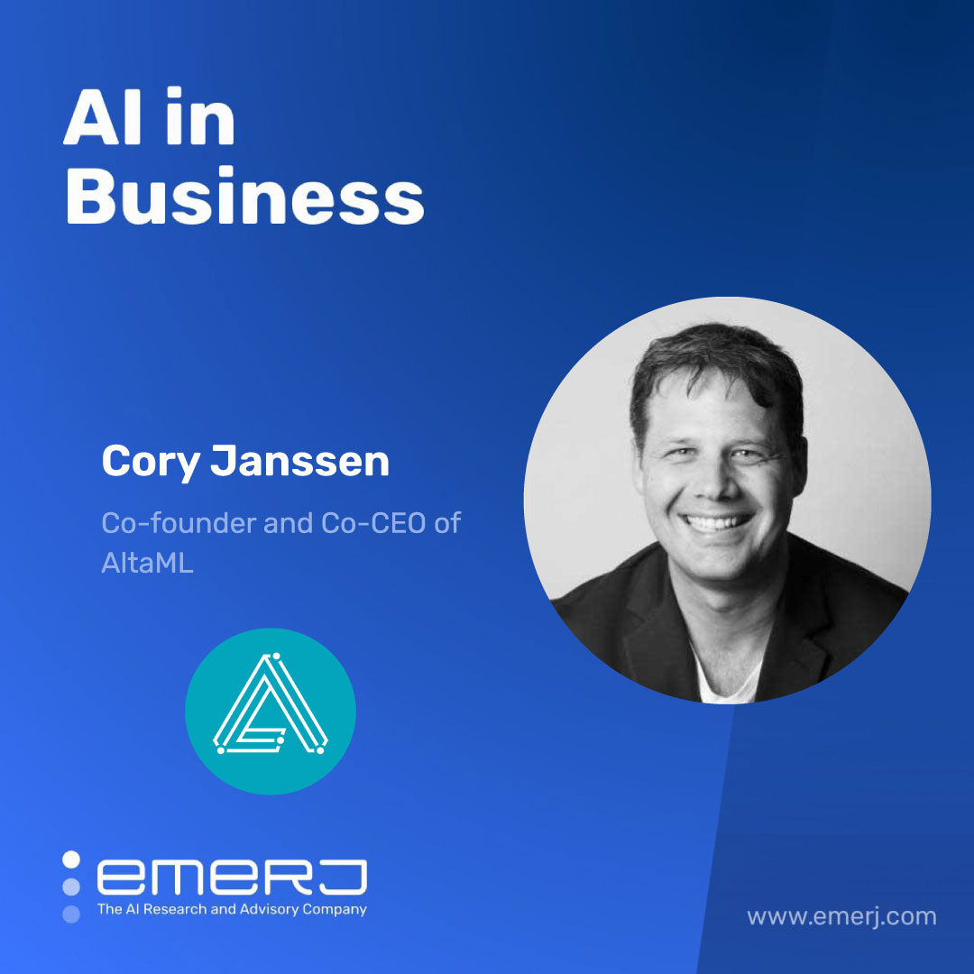 How to Expand an AI Services Business and Gain Traction with Enterprise Clients - with Cory Janssen of AltaML