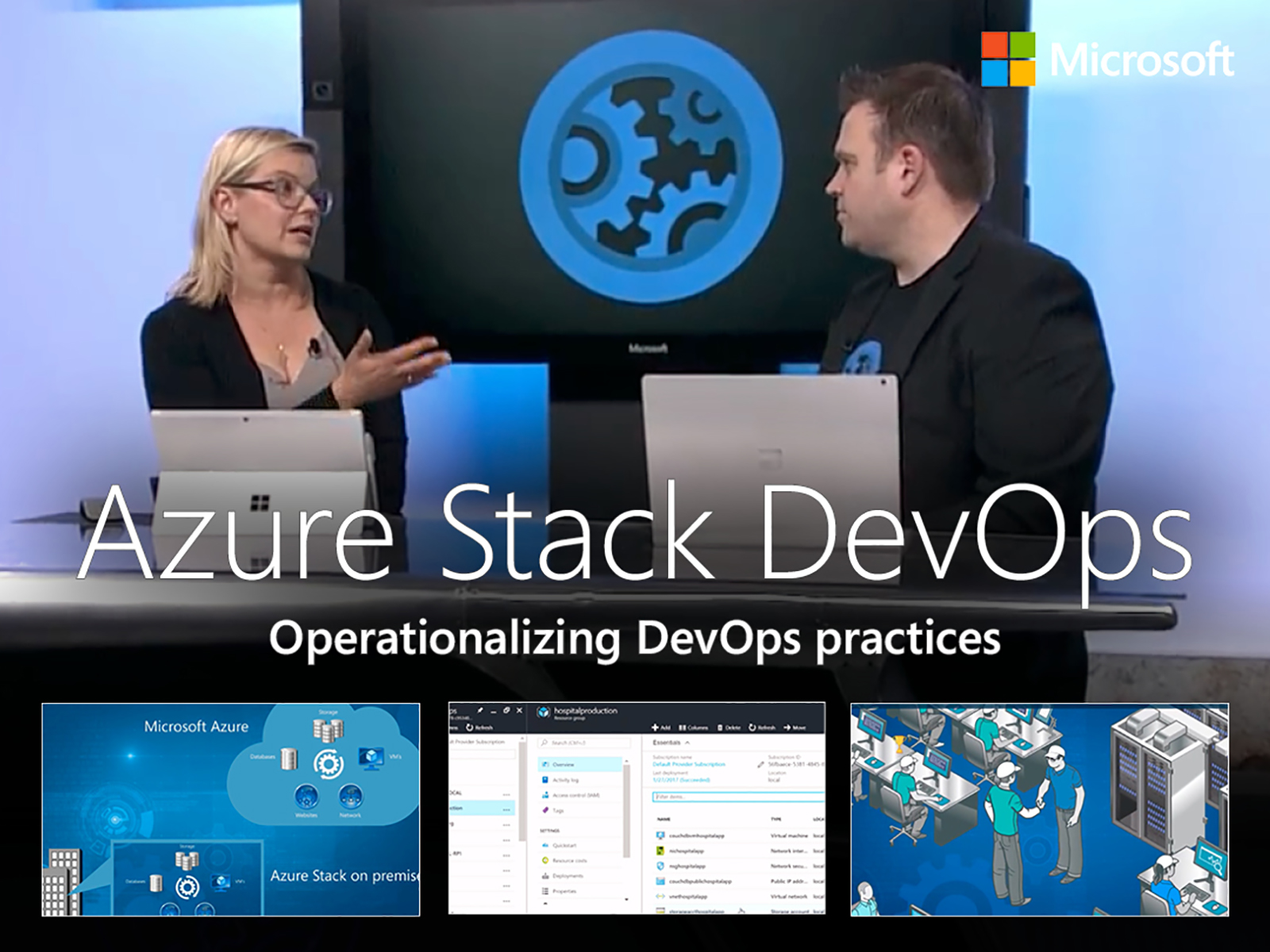 Artwork for Operationalizing DevOps practices with Azure and Azure Stack