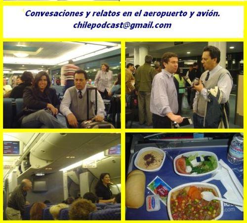46 Pasantía-Conversaciones y relatos desde el aeropuerto y avión