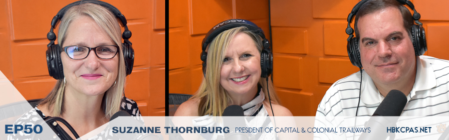 Suzanne Thornbury on the Playing Above The Line Podcast