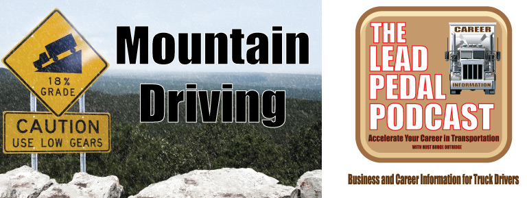 Mountain climbing for drivers