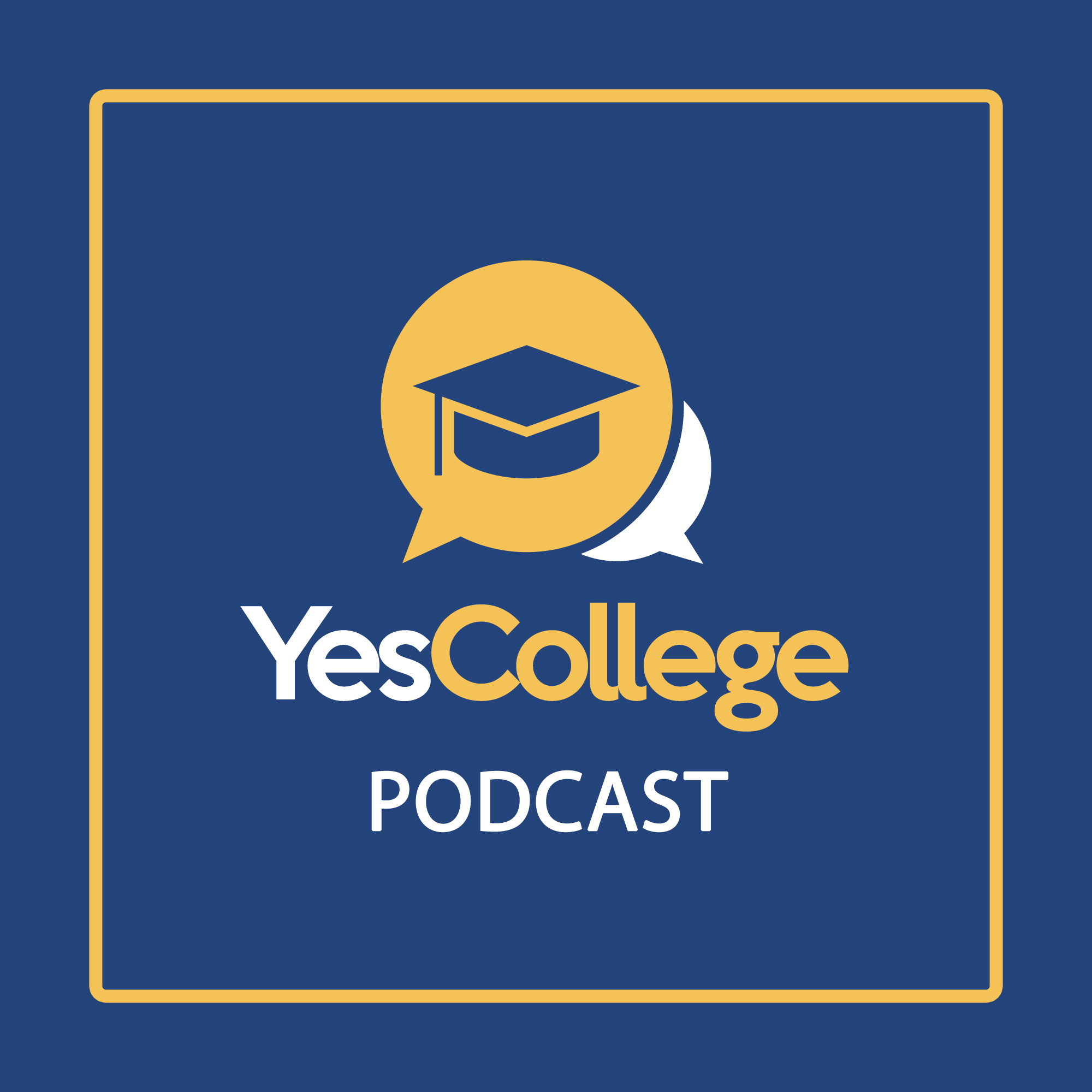 The YesCollege Podcast show art