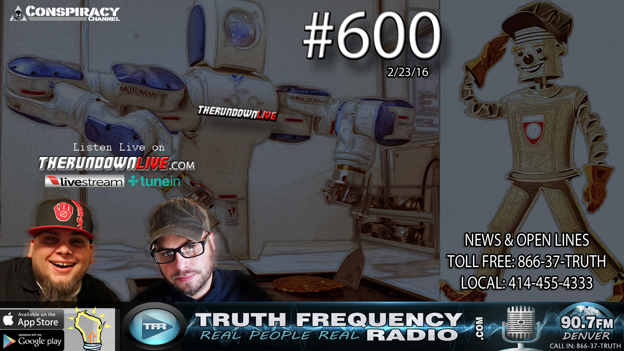 The Rundown Live #600 (Robotics, Artificial Intelligence, Future)