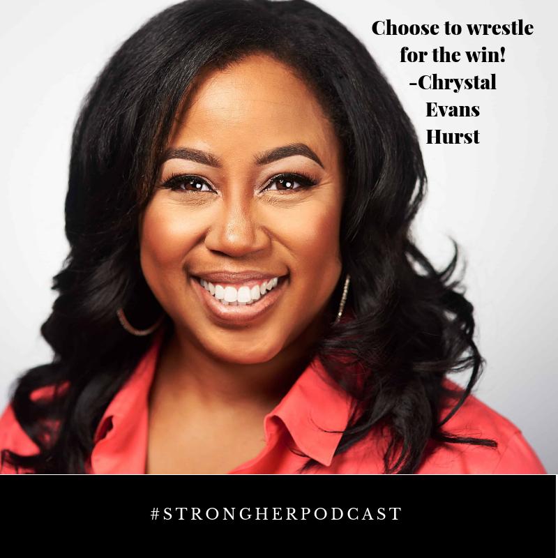 Chrystal Evans Hurst podcast