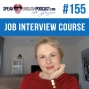 Artwork for #155 Job Interview Stories - English Course - ESL