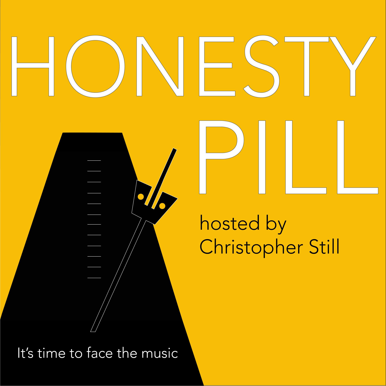 The Honesty Pill Podcast show art